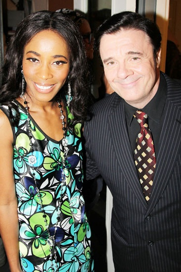2013 Theatre World Awards — Valisia LeKae — Nathan Lane