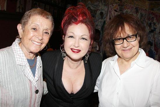 Sardi's- Kinky Boots-Pat Birch- Cyndi Lauper- Ingrid Sischy