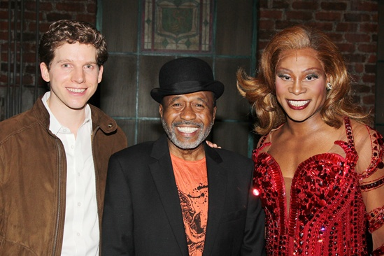 Ben Vereen at 'Kinky Boots' — Stark Sands — Ben Vereen — Billy Porter