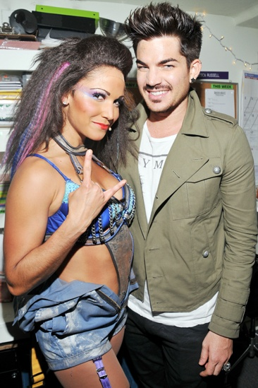 Rock of Ages - Adam Lambert Visit – Jennifer Rias - Adam Lambert