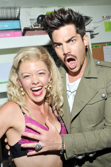 Rock of Ages - Adam Lambert Visit – Kate Rockwell – Adam Lambert