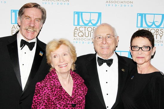 Actors' Equity 100th Anniversary — Nick Wyman — Florence Libin — Paul Libin — Mary McColl