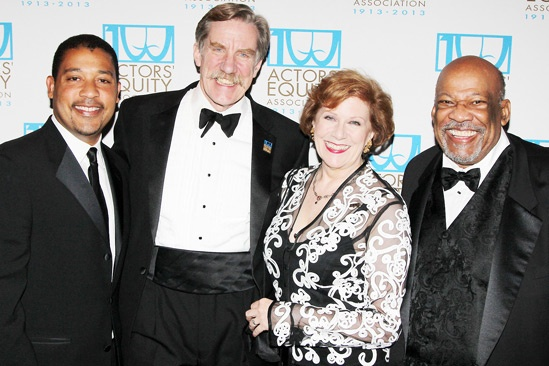 Actors' Equity 100th Anniversary — David White — Nick Wyman — Roberta Reardon — Mike Hodge