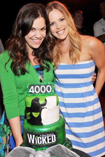 Wicked – 4,000 Performance- Lindsay Mendez- Katie Rose Clarke