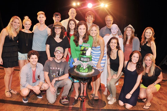 Wicked – 4,000 Performance- Cast