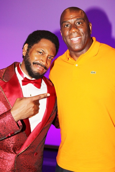 Magic Johnson at Motown — Bryan Terrell Clark — Magic Johnson
