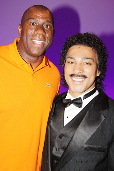 Magic Johnson at Motown — Magic Johnson — Charl Brown