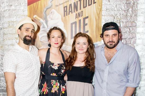 Rantoul and Die - Opening Night - Matthew Pilieci - Sarah Lemp - Vanessa Vache - Derek Ahonen