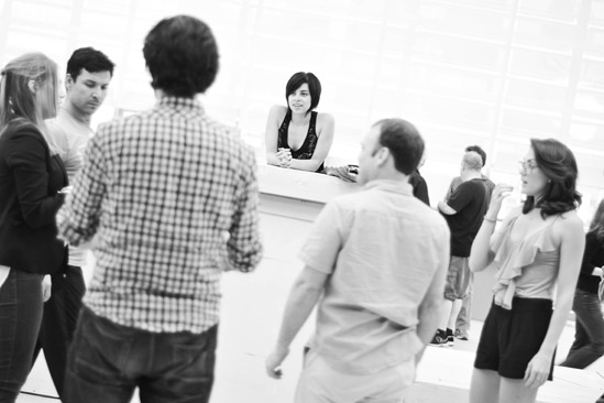 'First Date' Rehearsal — Krysta Rodriguez