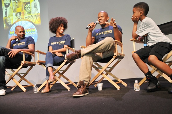 'Motown' at SoHo Apple Store— Brandon Victor Dixon — Valisia LeKae — Ryan Shaw — Raymond Luke Jr.