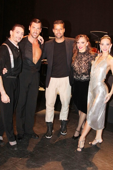 Forever Tango- Juan Paulo Horvath- Maksim Chmerkovskiy- Ricky Martin- Karina Smirnoff Victoria Galoto