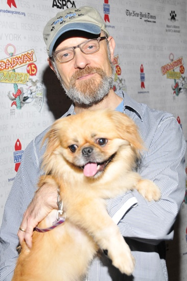 Broadway Barks 2013 — David Hyde Pierce