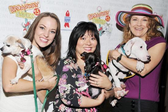 Broadway Barks 2013 — Laura Osnes — Ann Harada — Victoria Clark