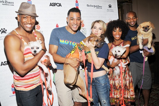 Broadway Barks 2013 — Bryan Terrell Clark — Charl Brown — Morgan James — Valisia LeKae — Brandon Victor Dixon