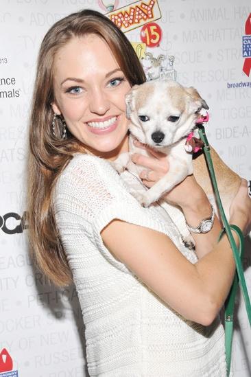 Broadway Barks 2013 — Laura Osnes