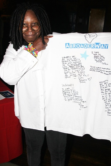 A Broader Way – Karaoke Benefit – Whoopi Goldberg