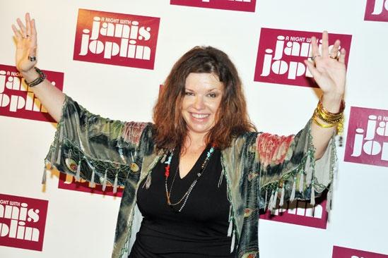 'A Night with Janis Joplin' Press Event — Mary Bridget Davies