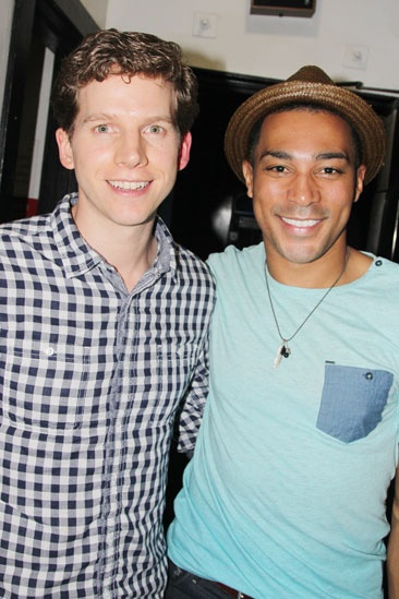 'Motown' Actors Fund — Stark Sands — Charl Brown