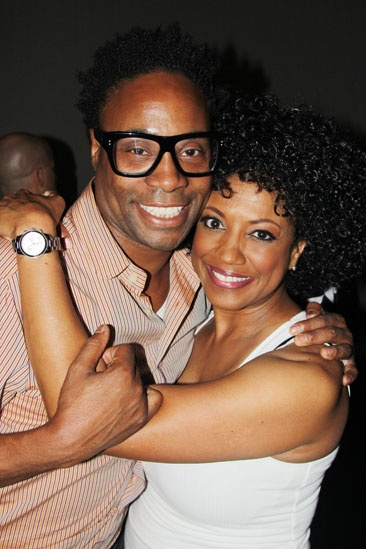 'Motown' Actors Fund — Billy Porter — Marva Hicks