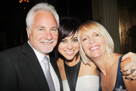 'First Date' Opening — Krysta Rodriguez and parents