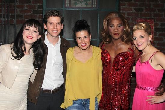 Kinky Boots- Lena Hall- Stark Sands- Idina Menzel- Billy Porter- Annaleigh Ashford