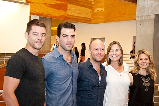 The Glass Menagerie – Meet and Greet – Brian J. Smith – Zachary Quinto – John Tiffany – Cherry Jones - Celia Keenan-Bolger