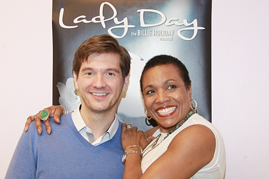 'Lady Day' Meet and Greet — David Ayers — Dee Dee Bridgewater
