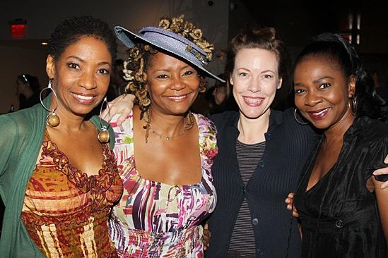 stop. reset. – opening night – Adriane Lenox – Tonya Pinkins – Veanne Cox – Ramona Keller