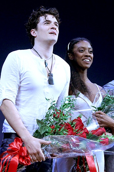 Romeo and Juliet – Opening Night – Orlando Bloom – Condola Rashad