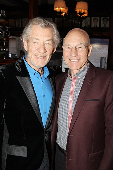 Godot and No Man's Land – Ian McKellen – Patrick Stewart