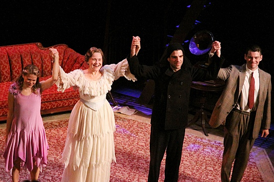 'The Glass Menagerie' Opening — Celia Keenan-Bolger — Cherry Jones — Zachary Quinto — Brian J. Smith