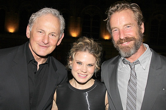 'The Glass Menagerie' Opening — Victor Garber — Celia Keenan-Bolger — Rainer Andreesen