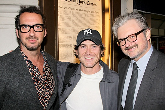 'The Glass Menagerie' Opening — David Bar Katz — Billy Crudup — John Ellison Conlee