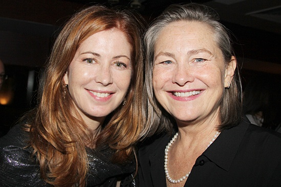 'The Glass Menagerie' Opening — Dana Delany — Cherry Jones