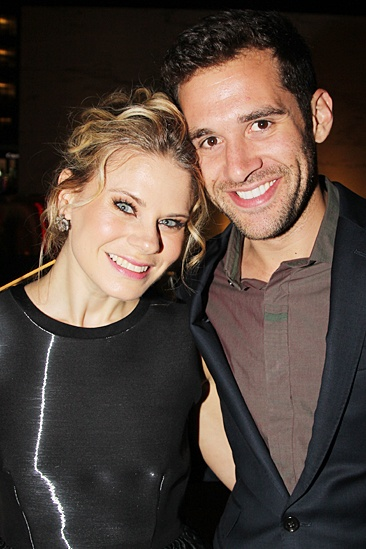'The Glass Menagerie' Opening — Celia Keenan-Bolger — Adam Chanler-Berat