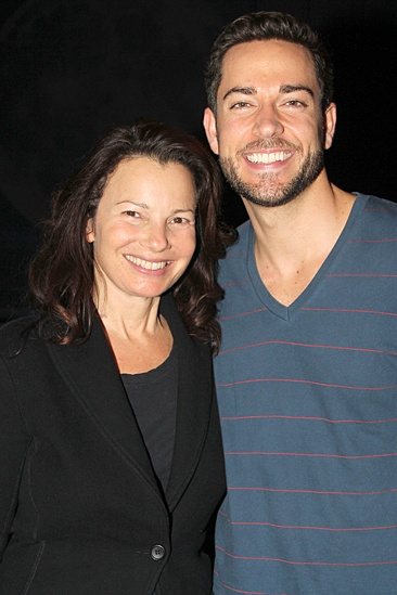 Fran Drescher at 'First Date' — Fran Drescher — Zachary Levi