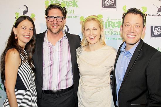 Shrek – DVD Release Party – Sutton Foster – Christopher Sieber – Kelly Rutherford – John Tartaglia