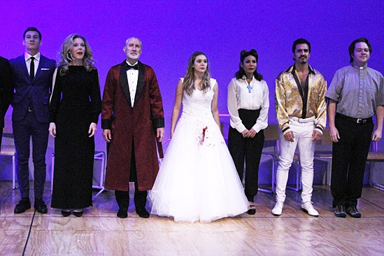 Romeo & Juliet – Opening Night – Stan Demidoff – Kathryn Meisle – David Garrison – Elizabeth Olsen – Daphne Rubin-Vega – Dion Mucciacito – Harry Ford