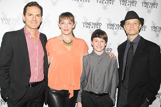 The Landing – Opening Night – Paul Anthony Stewart – Julia Murney – Frankie Seratch – David Hyde Pierce