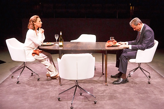 <I>Domesticated</I>: Show Photos - Laurie Metcalf - Jeff Goldblum