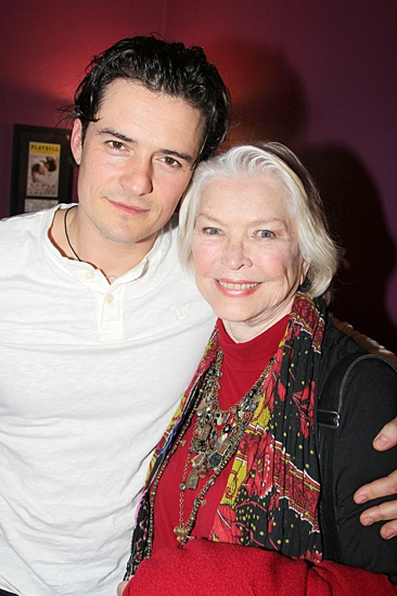 Celebs at Romeo and Juliet - Orlando Bloom - Ellen Burstyn