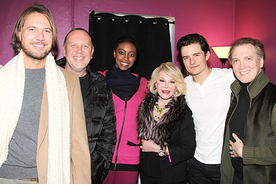 Celebs at Romeo and Juliet - Lance LePere - Michael Kors - Condola Rashad - Joan Rivers - Orlando Bloom - Charles Busch