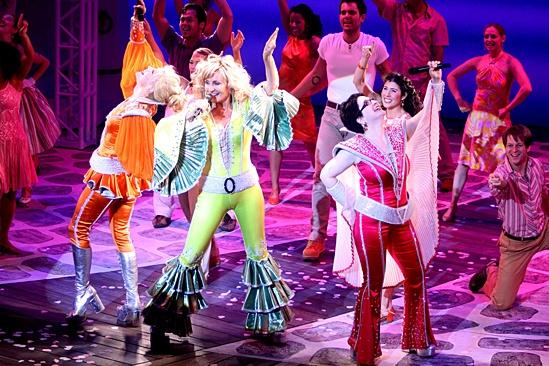 Mamma Mia – 5,000 performance – Felicia Finley – Judy McLane – Lauren Cohn