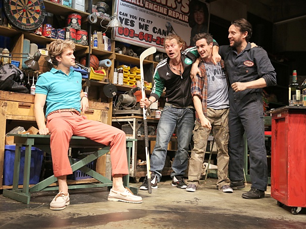 <I>Small Engine Repair</I>: Show Photos - Keegan Allen -  James Badge Dale - James Ransone - John Pollono