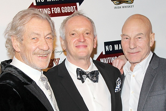 Waiting For Godot – Opening Night – Ian McKellen – Sean Mathias – Patrick Stewart – Billy Crudup