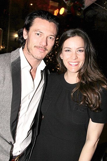 Waiting For Godot – Opening Night – Luke Evans – Liv Tyler
