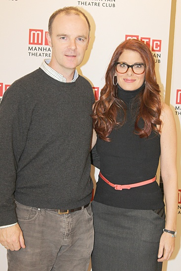 Outside Mullingar – Press Event – Brian F. O'Byrne – Debra Messing