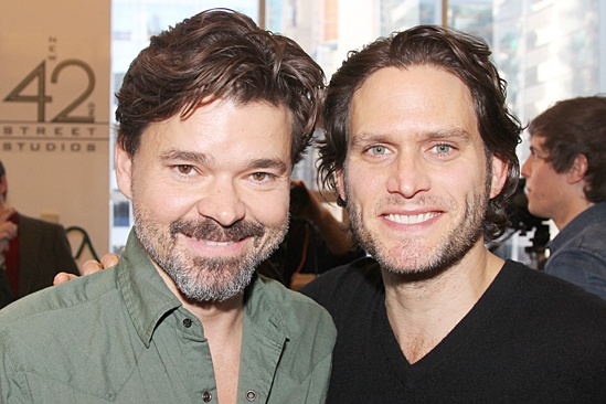 Bridges of Madison County – Meet and Greet – Hunter Foster – Steven Pasquale