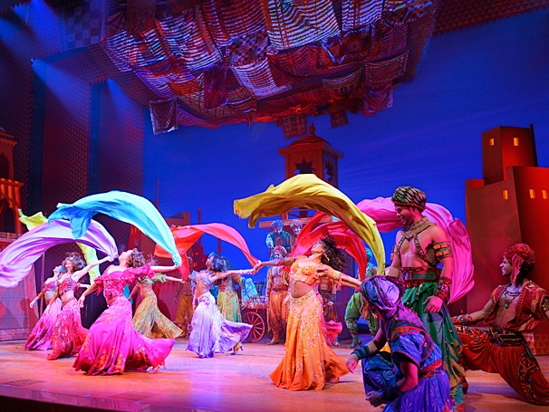 <I>Aladdin</I>: Show Photos - cast