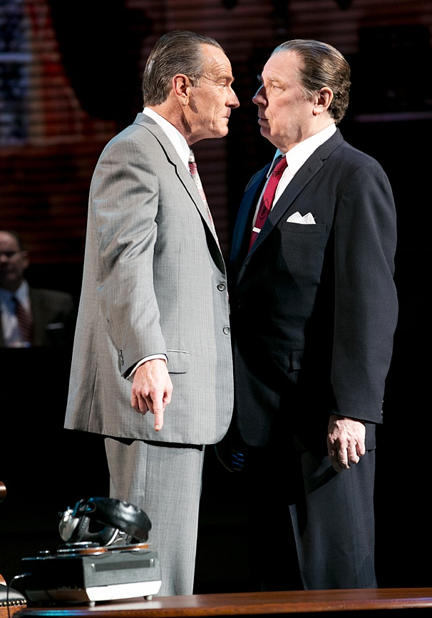 All The Way - Show Photos - Bryan Cranston - Michael McKean